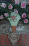 embroidered rose back