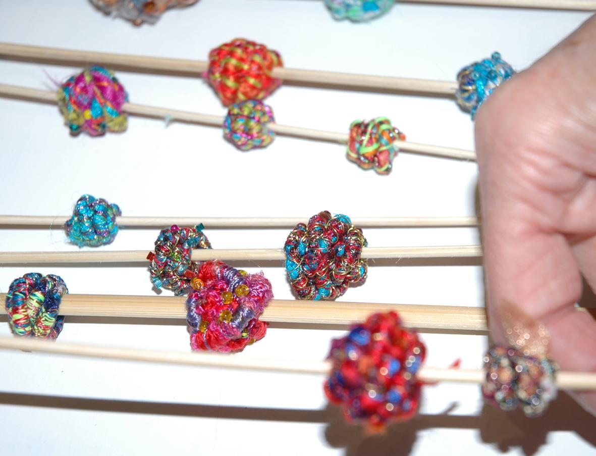 Making Fabric Beads Janet Haigh Her Work