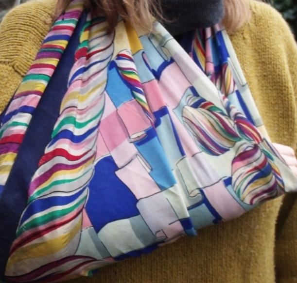 vintage 1950's scarf sling.