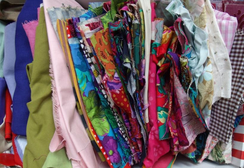 patchwork fabrics stash