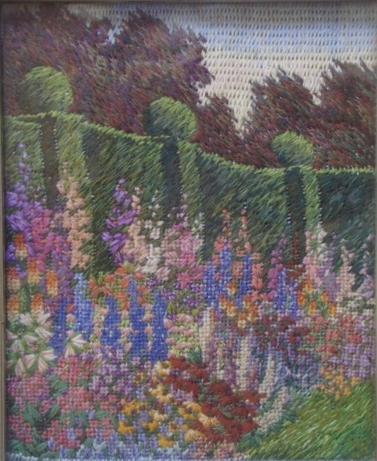 Evening Garden Embroidery