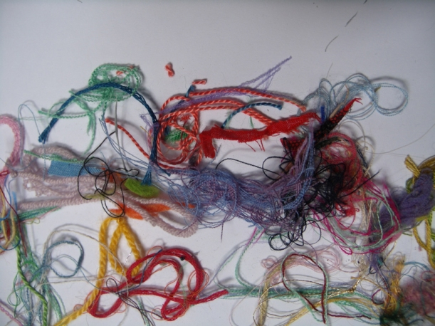 thrown away thread