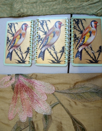 birds and silks