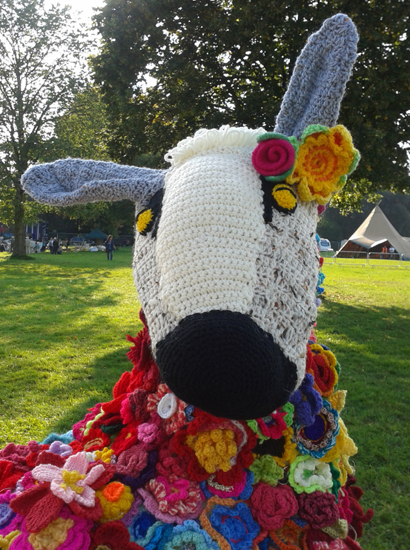 wool fair mascot