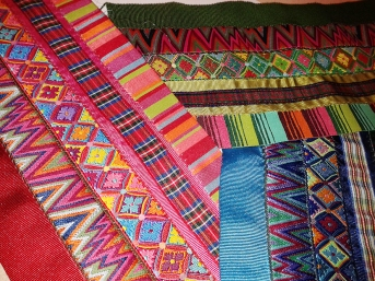 crazy ribbon fabric