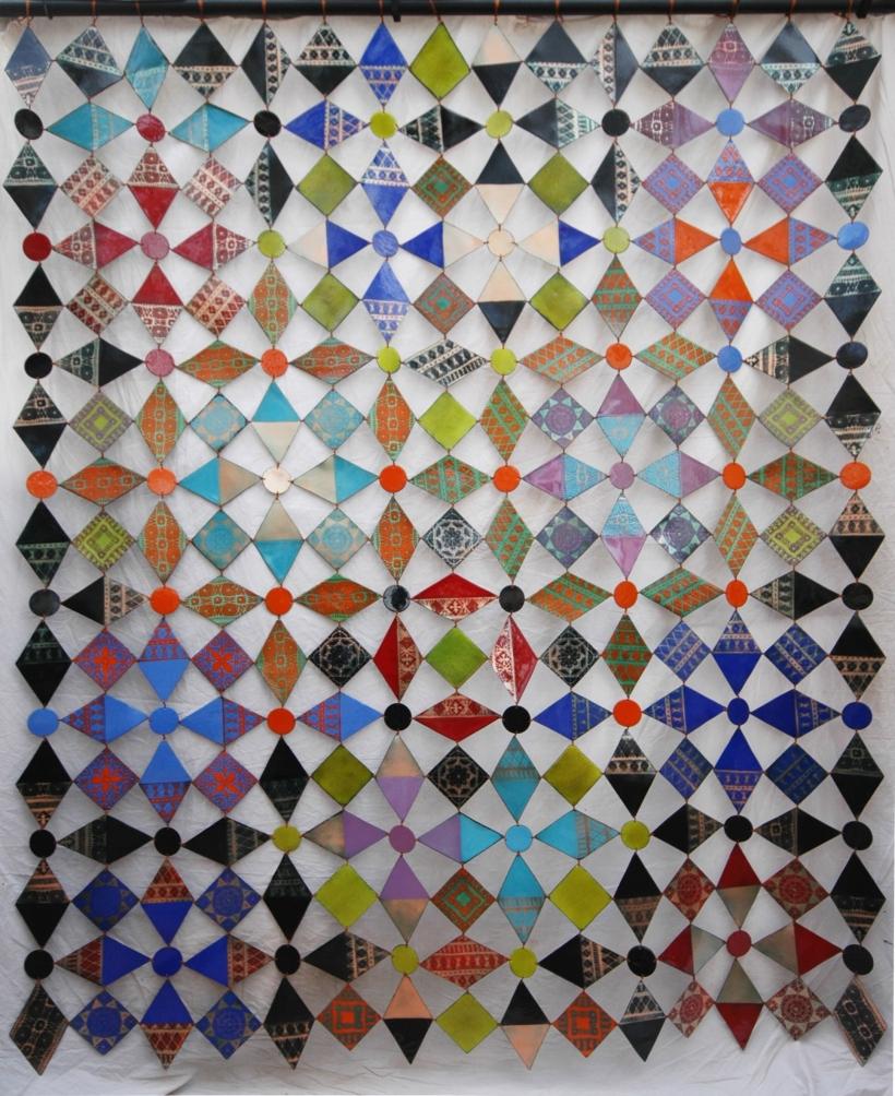 enamel patchwork