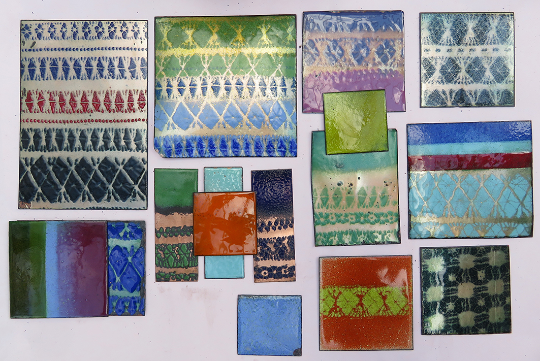 enamel samples