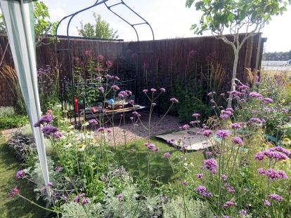 the planted garden